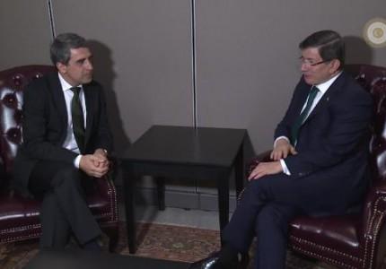 basbakan-davutoglu-bulgaristan-cumhurbaskani-plevneliev-ile-gorustu