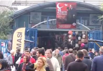 Edirne Sosyete Pazarı'na Bulgaristan'dan akın akın…