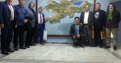 Dünya Türk Gazeteciler Orta Asya'da -3-