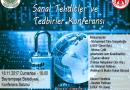 Sanal Tehditler ve Tedbirler Konferansı'na davet