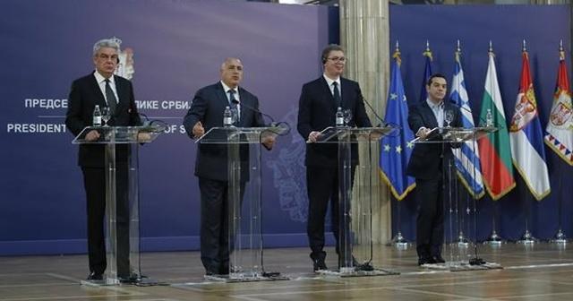Sırbistan'da Dörtlü Balkan Zirvesi