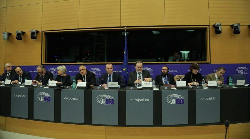 Borisov, EPP Grubu ile görüştü