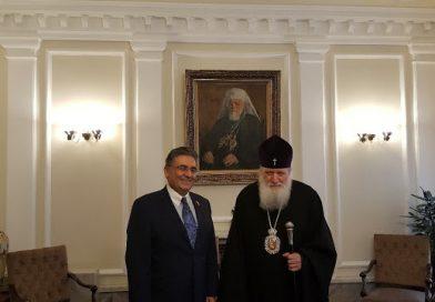 Türk Büyükelçisi Bulgar Patriği ile görüştü