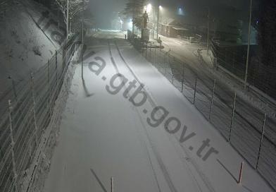 Dereköy Sınır Kapısı kar nedeniyle kapandı