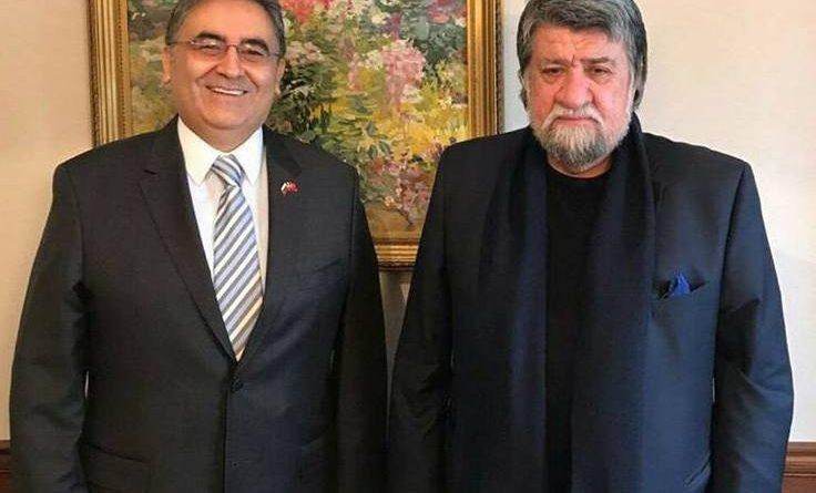 Büyükelçi Hasan Ulusoy,  Vejdi Raşidov ile görüştü