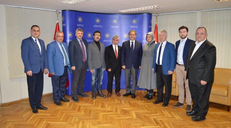 Türkiye Cumhuriyeti Büyükelçisi Dr. Hasan Ulusoy'un 15 Temmuz Şehitleri Anma, Milli Birlik Ve Demokrasi Günü Mesaji
