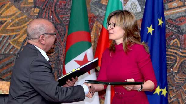 Cezayir Dışişleri Bakanı Bulgaristan'da