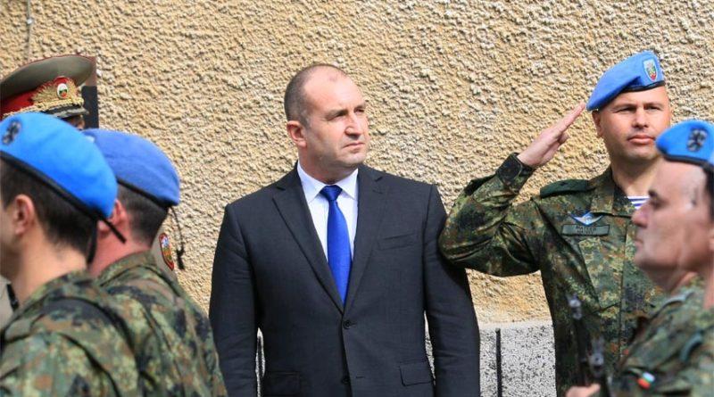 Rumen Radev: Bulgaristan'a modern ordu gerekli