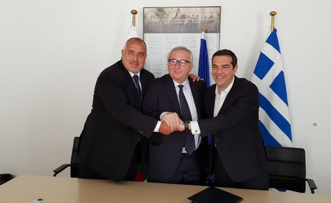 Bulgaristan ve Yunanistan, doğalgaz bağlantısının inşaatı için sözleşme imzaladı