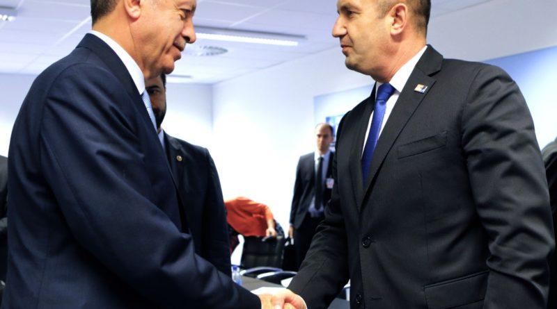 Rumen Radev Brüksel'de Recep Tayyip Erdoğan ile görüştü