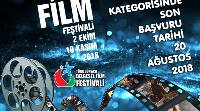 Türk Dünyası Belgesel Film Yarışması: 20 Ağustos 2018 son