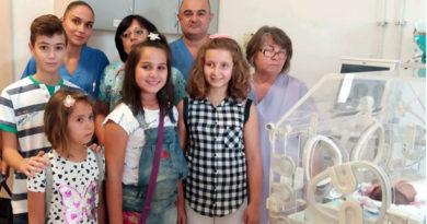 Stara Zagora'da çocuklar kentteki Üniversite Hastanesi'ne bağışta bulundu