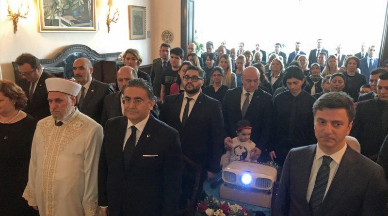 Atatürk, ebediyete intikalinin 80. yılında Sofya'da görev yaptığı kançılaryada anıldı