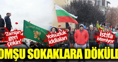 Bulgaristan halkı zamlar nedeniyle sokağa döküldü  Kaynak Yeniçağ: Bulgaristan halkı zamlar nedeniyle sokağa döküldü