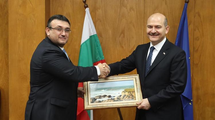 İçişleri Bakanı Soylu Bulgaristan'da