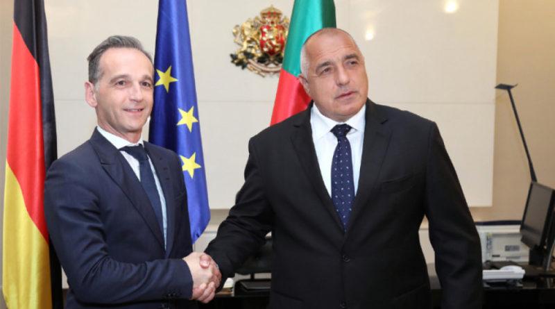 Almanya Dışişleri Bakanı Bulgaristan'da