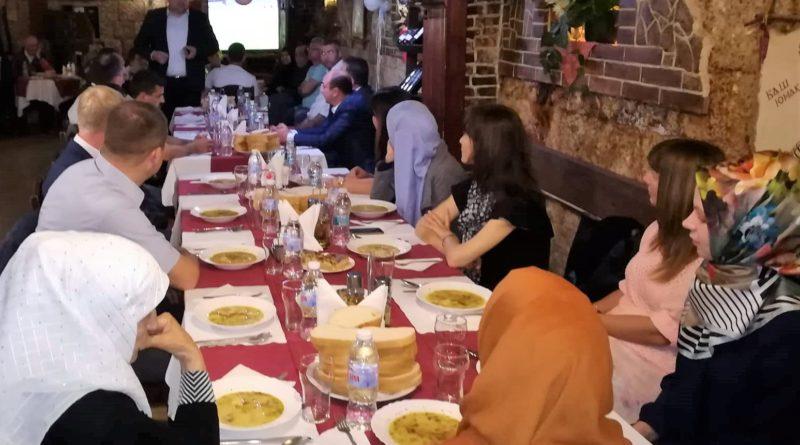 Rusçuk Bölge Müftülüğü iftar yemeği verdi