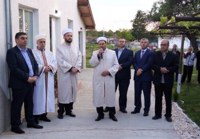 Sredkovec köyünde yeni inşa edilen caminin açılışı yapıldı