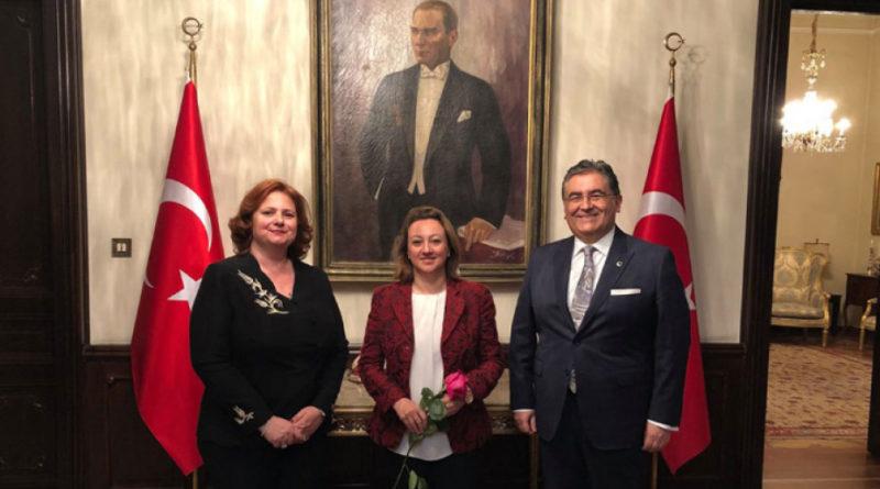 Türkiye Kültür Bakan Yardımcısı Özgül Özkan Yavuz Bulgaristan ziyaretinde